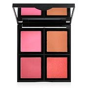 This beautiful blush palette holds 4 gorgeous shades to mix and match throughout the year for a custom blended color. This beautiful blush palette holds 4 gorgeous shades to mix and match throughout the year. Palette Contouring, Le Contouring, Makeup Palette, Beginner Contouring, No Foundation Makeup, Foundation Contouring, Face Foundation, Drugstore Foundation, Lipsticks