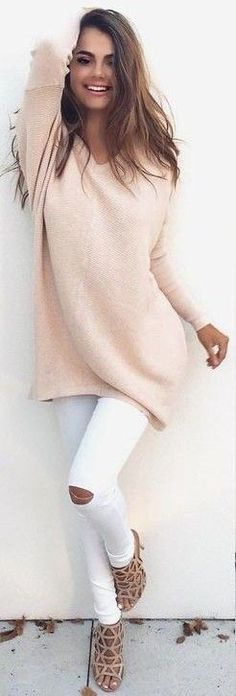 I love tunic length sweaters, and this looks so soft and not bulky. Beautiful!