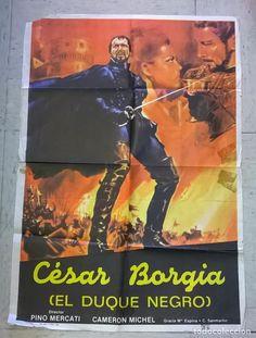 ORIGINAL FILM POSTER THE DUKE BLACK CAESAR BORGIA (Cinema - posters - Adventure)