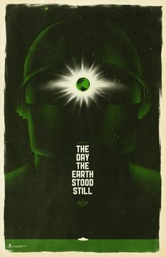 The Day the Earth Stood Still #graphic #popculture #thedaytheearthstoodstill