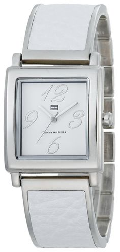 Women watches | Women white watch Tommy Hilfiger Women's 1780877 Fashion Silver-Tone White Watch