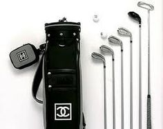 Chanel Golf Club Set