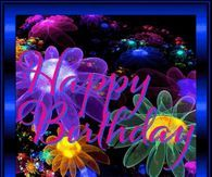 Bubbles And Floral Happy Birthday Gif Happy Birthday Prayer, Happy Birthday Quotes, Happy Birthday Cards, Balloon Pictures, Gif Pictures, Summer Pictures, Love Smiley, Blessed Quotes, Morning Blessings