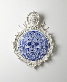 Find the latest shows, biography, and artworks for sale by Katsuyo Aoki. Katsuyo Aoki is best known for her ceramic sculptures that apply delicate, swirling … Halloween Skull, Halloween Treats, Paper Clay Art, Art Cart, Ugly To Pretty, Tattoo Portfolio, Day Of The Dead Skull, Blue City, Skull And Bones