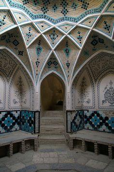 Hammam of Khan-e Ameriha, Kashan, Iran by Christian Morin / jahmorinz on Flickr.