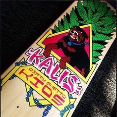 The new #DGK x @dgkalis Homage deck! #DGKallday #skateboard