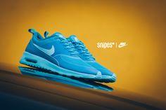 NIKE Schuh Air Max Thea clearwater/blue lacquer Artikelnummer: 1111086  snipes.com/nike #nike #sneaker #womft #airmaxthea #airmax #thea