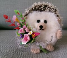 Needlefelt Romance Hedgehog