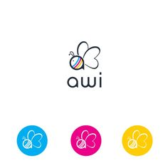 create a fashionable Logo for Awi - a new brand for kids by m-art