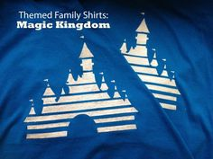 Step-by-step instructions for creating your own customized tshirts for your next Disney World trip