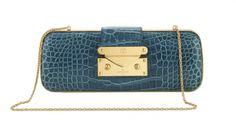 Louis Vuitton Minaudière Trésor in Crocodile Bleu     ᘡղbᘡ