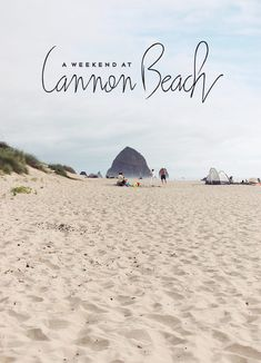 Cannon Beach - a little piece of home!