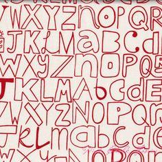 Lucie Summers Summersville Alphabetty London Bus Red