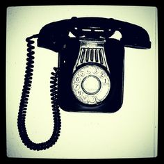 Hanging on the telephone.  2.0 version