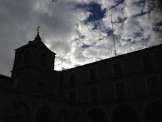 Nubes en Ávila