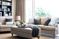 sloane 2 5 seater fabric sofa lounges living room furniture