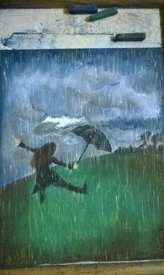 Soft Pastels - when rain brings joy