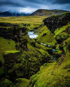 Another pearl in Iceland. Love the green color that comes with the Icelandic summer. Snapchat: wheniniceland : Martin Schlender #wheniniceland #iceland by wheniniceland