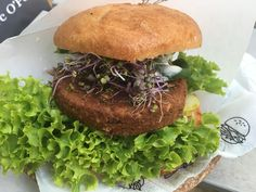 Vegan burger 😋