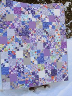 KayakQuilting: Finished - Penny Patch Quilt