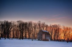 Barn at Sunset by Tom Darby on 500px