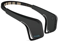 Black Muse Headband-- Muse makes meditation easier. Muse: the brain sensing headband helps you get the most out of your meditation practice by giving you real time biofeedback of what's going on in your mind. Meditation has been scientifically shown to reduce symptoms associated with stress, depression and anxiety.