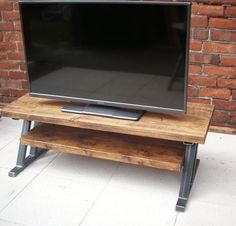 Rustic tv stand with fireplace walmart canada wood diy . Small Furniture, Handmade Furniture, Victorian Sofa, Fireplace Tv Stand, Diy Entertainment Center, Tv Cabinets, Cool House Designs, White Wood, Home Improvement