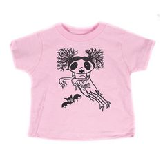 Ghost Girl T-Shirt Toddler Pink now featured on Fab.