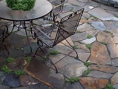 Impressive Patio Material #12 Brown Flagstone Patio