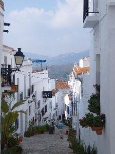 Frigiliana, Spain - where we went on hols last year...