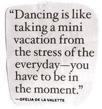 For all my friends that think I'm crazy for loving dancing!