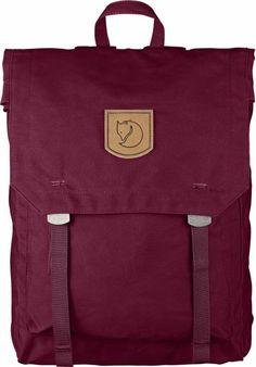 fjellreven foldsack no.1 ryggsekk – plum