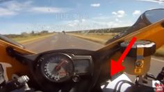 Snake Jumps Out At Motorcycle Rider Doing 155 MPH (CRAZY) |