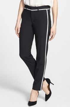 Vince Skinny Strapping Trousers via Nordstrom - $275