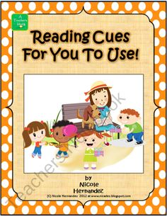 Reading Cues For You To Use-Comprehension Posters product from A_Teachers_Idea on TeachersNotebook.com