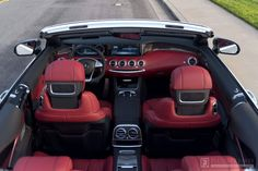 Intérieur Mercedes-Benz S 65 AMG Cabriolet
