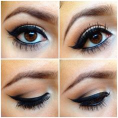 This eye make up look will no never go out of style. It's a classic ; Makeup Geek, Love Makeup, Skin Makeup, Dear Makeup, Makeup 2016, Makeup Contouring, Neutral Makeup, Neutral Eyes, Unique Makeup
