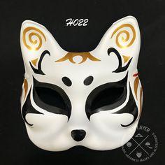 Anbu Mask, Japanese Fox Mask, Naruto Merchandise, Kitsune Mask, Dragon Mask, New Mods, Half Mask, Masks Art, Japanese Culture