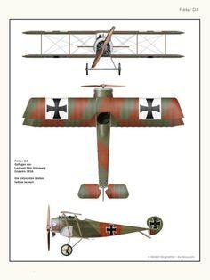 Fokker D.II ... by Herbert Ringlstetter