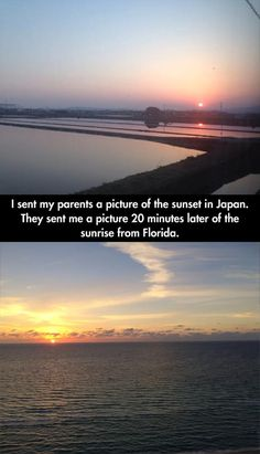 Amazing! That is actually what a sunrise in Japan looks like. I have lived there for 3 years.