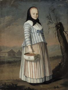 Nils Schillmark: Smultronflickan, c. 1782. Konstmuseet Ateneum. Bild: Statens konstmuseum, Centralarkivet för bildkonst / Antti Kuivalainen