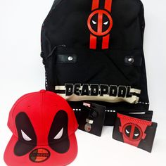 MARVEL COMICS DEADPOOL TWELVE BULLETS BACKPACK RUCKSACK SCHOOL BAG NEW WITH TAGS