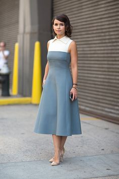 New York Fashion Week Spring 2014 Miroslava Duma