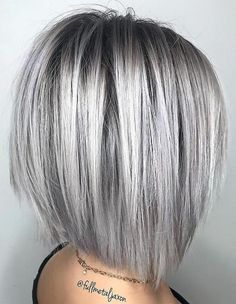 Wigs For White Women Best Anti Grey Hair SupplementGray Salt N Pepper Wigs - Kurzhaarfrisuren Short Straight Hair, Short Hair With Layers, Short Hair Cuts, Short Hair Styles, Silver Hair Styles, Med Curly Hair Styles, Bob Hair Cuts, Short Silver Hair, Silver Blonde Hair