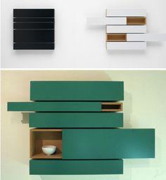 The Horizontals & Horizontals A-line Cupboards