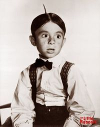 Alfalfa! What was his mama thinkin' when she named him.  So glad it was just a character thing.