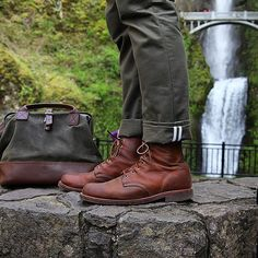 Chippewa Men's 6 Inch Tan Renegade Service Boots , $299 USD Photo Credit…