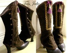 Spats by très Julie...don't like the tassle but the rest is divine!