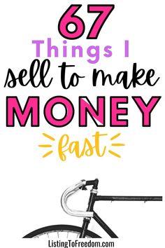 Selling Online, Selling On Ebay, Quick Cash, Savings Bank, Make Money Fast, Like A Boss, Money Tips, Extra Money, Saving Money