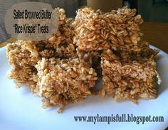 My Lamp is Full: Browned Butter and Sea Salt Rice Krispie Treats